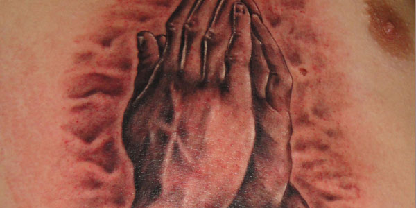 Praying Hands by Zoran