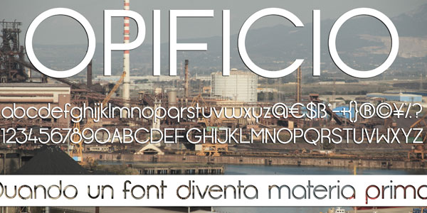 opificio font Top 25 Free But Very Professional Fonts For Everyday Use In 2011