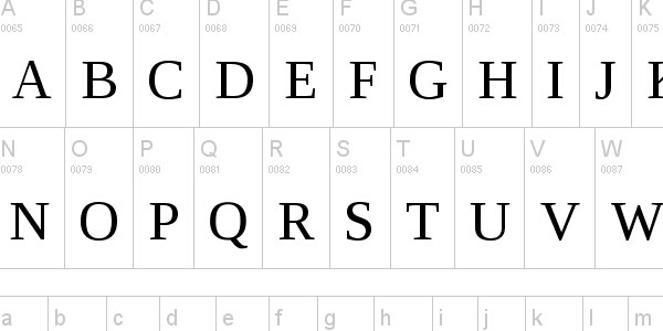 serif professional font Top 25 Free But Very Professional Fonts For Everyday Use In 2011