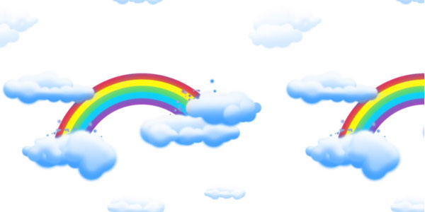 cloud 30 Colorful Rainbow Backgrounds