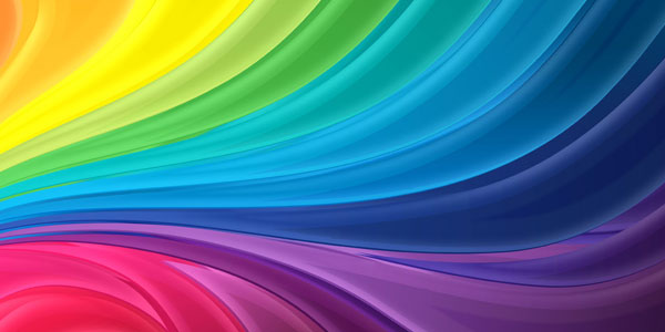 coloring 30 Colorful Rainbow Backgrounds