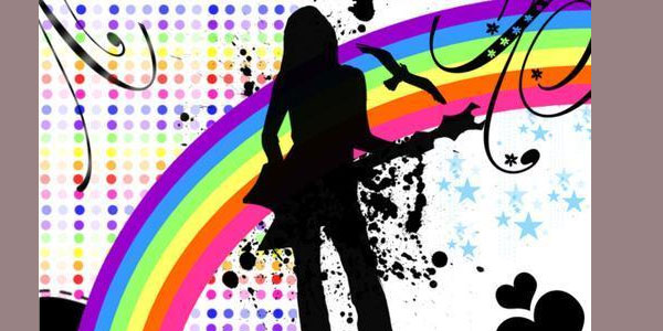 song 30 Colorful Rainbow Backgrounds