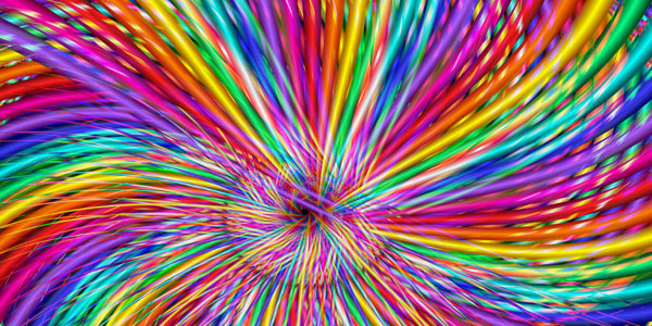 swirl 30 Colorful Rainbow Backgrounds