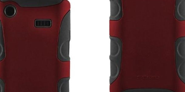 Seidio ACTIVE Case for Samsung Captivate (Burgundy)