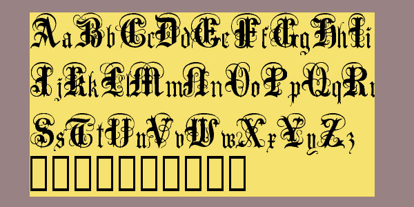 anglo text font 25 Stunning Tattoo Fonts
