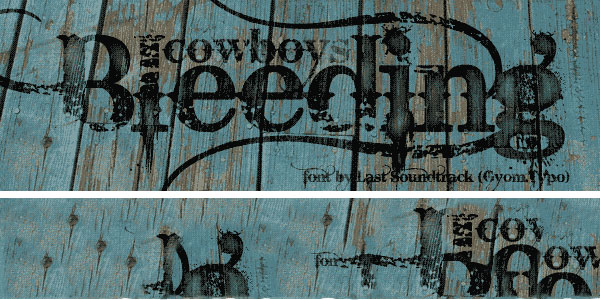 cowboy font 25 Stunning Tattoo Fonts