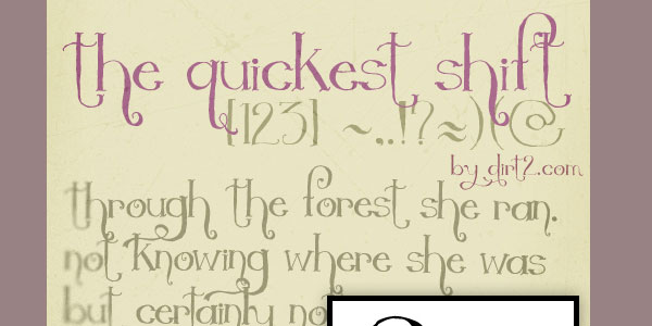 The Quickest Shift - FREE FONT