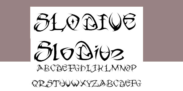 free tribal tattoo font 25 Stunning Tattoo Fonts