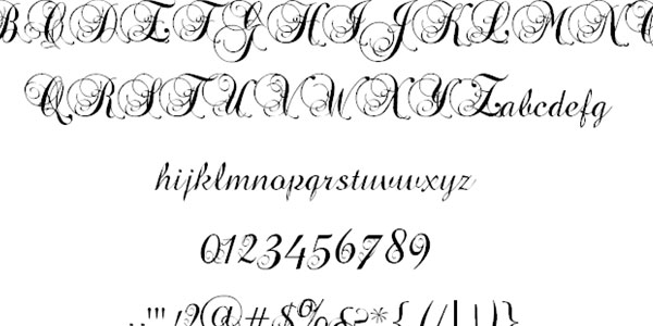 25 Stunning Tattoo Fonts
