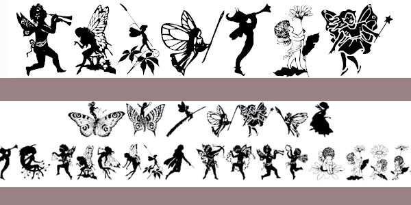 wwfairyfantasy font 25 Stunning Tattoo Fonts