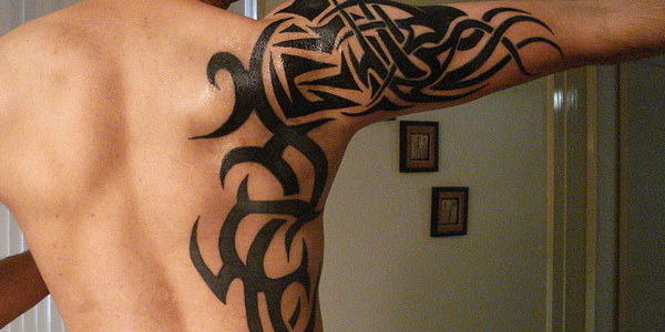 Tattoo tribal shoulder