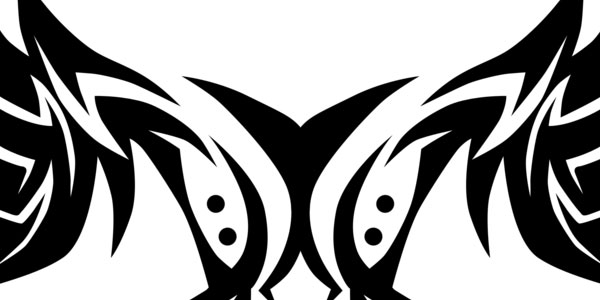 Tribal Shoulder Blades