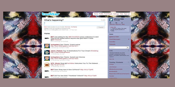 painting twitter background 25 Free Twitter Backgrounds