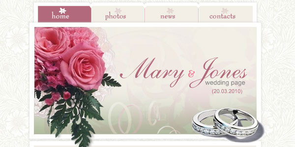 Pink Wedding Site