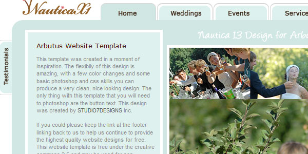 sweet kiss wedding template 20 Free Wedding Website Templates