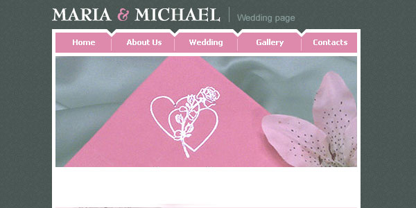 wedding webste template 20 Free Wedding Website Templates