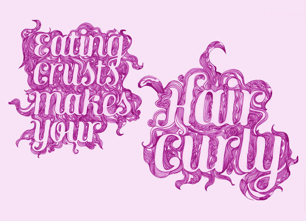 Fakery - Illustrated Typography