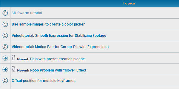many ae expressions tutorials Useful Collection of Resources for After Effects Expressions