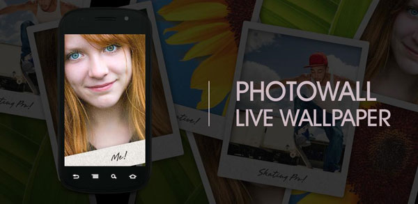 PhotoWall Live Wallpaper