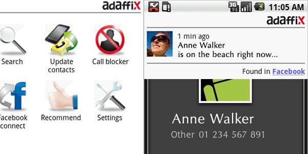 adaffix 25 Coolest Android Apps