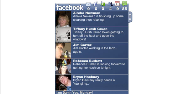 facebook status on desktop 20 Best Facebook Apps