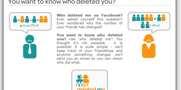 who deleted you on facebook 20 Best Facebook Apps