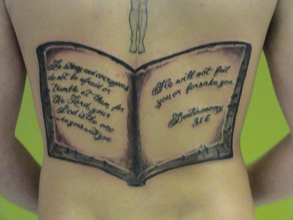 bible tattoo 15 Awesome Bible Verse Tattoo Designs