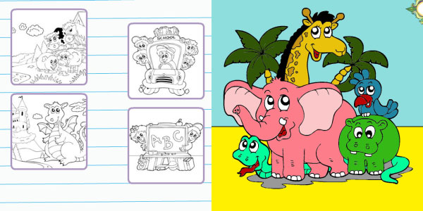 coloring book blackberry 25 Free Blackberry Apps You Should Check