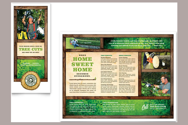 brochure template design 30 Creative Tri Fold Brochure Template Designs