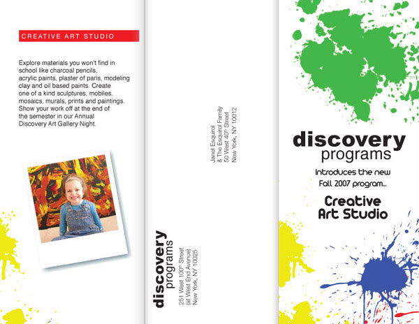 Trifold Brochure - Discovery Programs