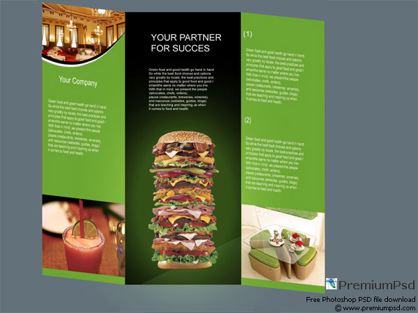 30 Great Looking Tri Fold Brochure Template Designs