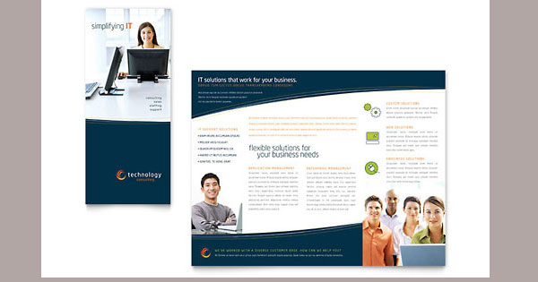 tri fold brochure template design 30 Creative Tri Fold Brochure Template Designs