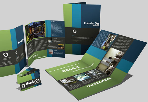 trifold business card 30 Creative Tri Fold Brochure Template Designs