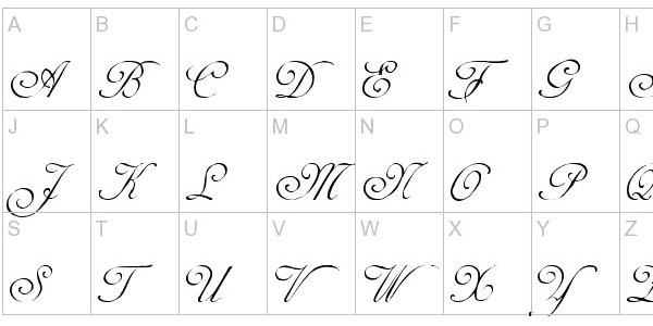 25 Free Calligraphy Fonts Sample Calligraphy Paper 8 Examples In