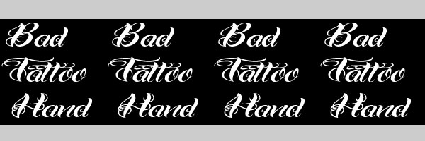 tatt00 font cool 25 Cool Tattoo Fonts