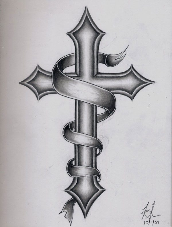 Cross Tattoos For Men 25 Brilliant Examples Browse Slodive