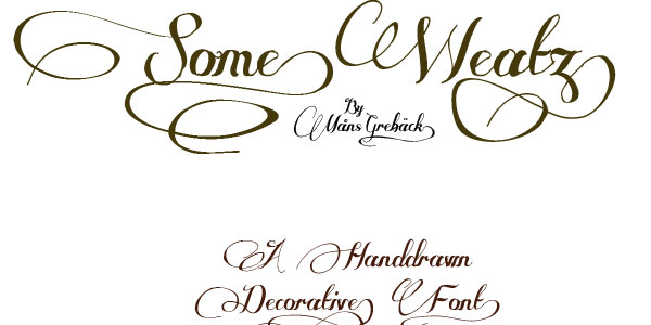 decorative tattoo font 25 Free Cursive Tattoo Fonts
