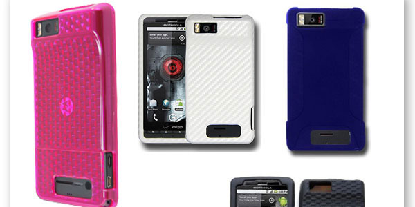 5 Fab Droid X Cases