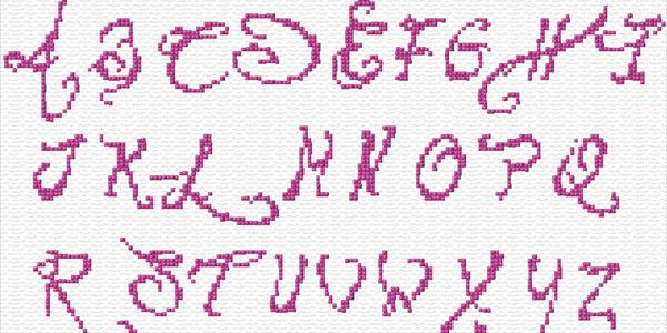 alphabet embroidery design for baby 35 Free Embroidery Designs