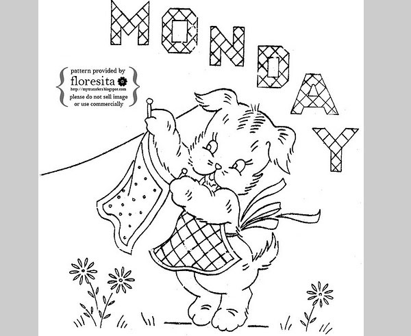 free puppy embroidery pattern 25 Free Embroidery Patterns