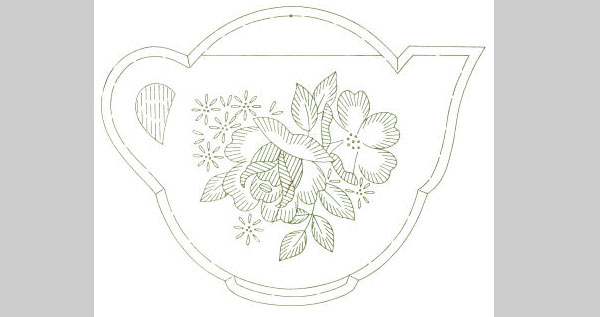 pretty vintage potholders pattern 25 Free Embroidery Patterns
