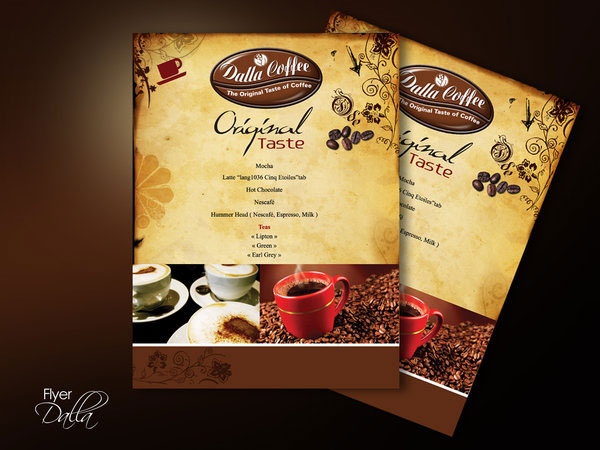 coffee flyer template 25 Great Looking Flyer Templates