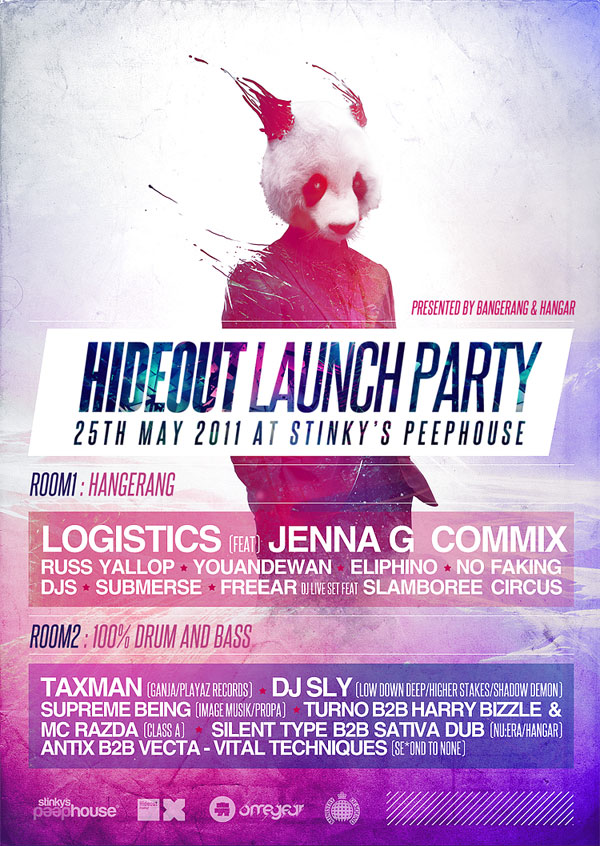 launch part flyer 25 Great Looking Flyer Templates