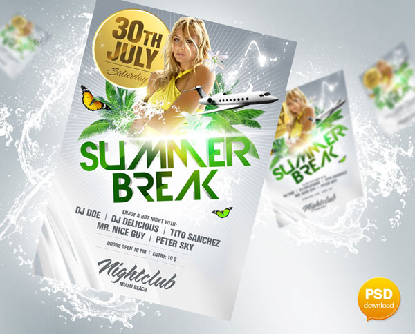 new flyer design 25 Great Looking Flyer Templates