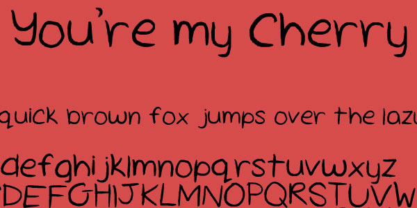 cherry pie 25 Font Styles Showcase And Resources
