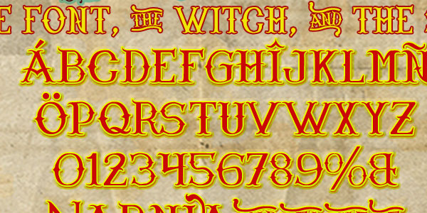 narnfont 25 Font Styles Showcase And Resources