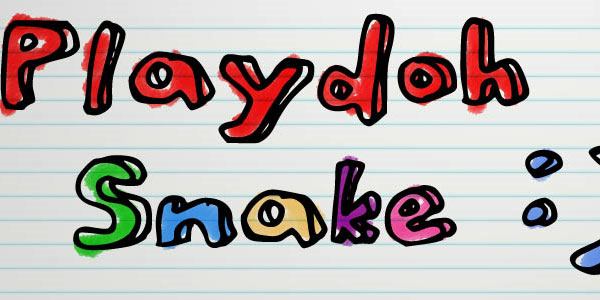 playdoh snake 25 Font Styles Showcase And Resources