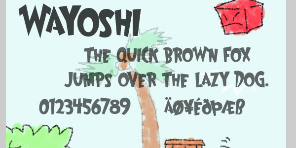 wayoshi font 25 Font Styles Showcase And Resources