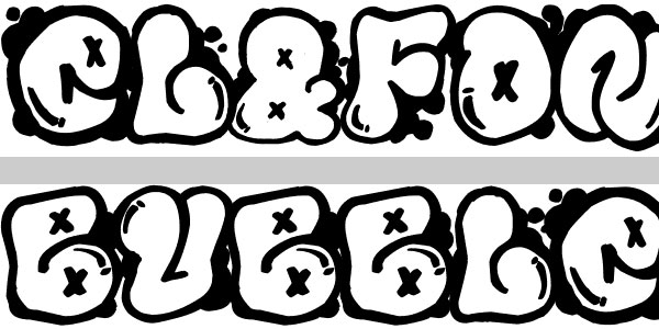 font bubble 50 Awesome Graffiti Fonts
