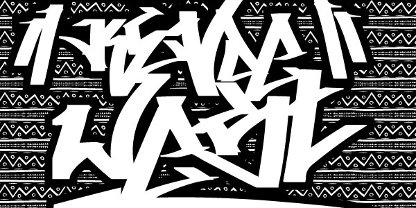 Graffiti Fonts. Different kinds of graffiti fonts - Design Press